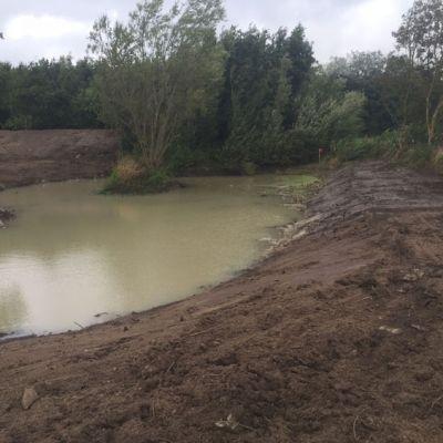 Oprensning af sø nordjylland